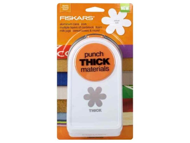 Fiskars Scroll, Heart, USA, Floral, Round, Deco Square | Paper, Card-stock Punch Puncher